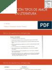 EJERCITACIÓN TIPOS DE AMOR EN LITERATURA