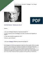 Heidegger y Marx