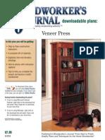 WJ059 Veneer Press