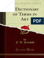A Dictionary of Terms in Art