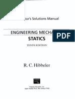 Solucionario Mecanica Vectorial para Ingenieros Estatica - 10ma Edici¢n