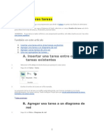 Manual de Microsoft Project 2013
