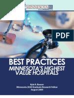 Best Practices - Minnesota's Highest Value Hospitals