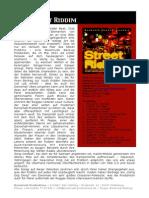Street Riddim Infoblatt