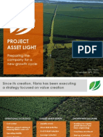 Project Asset Light - Preparing the company for a new growth cycle