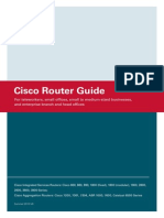 Cisco Router Guide - Integrated Services Routers Cisco 2800 Series [and Others] - Product Brochure - Summer 2010 v.6