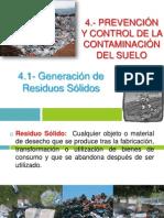 4.1 Generacion d Residuos Solidos