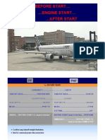 A320-Before and After Engine Start