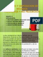 4.2 Manejo y Disposicion de Residuos Peligrosos y No Peligrosos