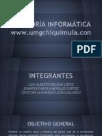 Auditoría UMG Chiquimula