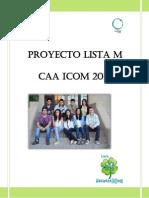 Proyecto Lista M CAA ICOM 2014