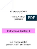 Thinking Maps Math Instructional Strategy is It Reasonable