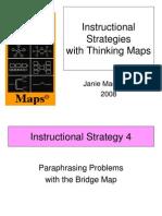 Thinking Maps Math Instructional Strategies Bridge to Paraphrasing