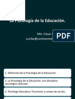 Ps de La Edu e Intervencion Educativa