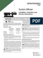 Pump Suction Diffuser Manual