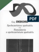 Debord Guy - Spo 322 Ecze 324 Stwo Spektaklu.poliSH.ebook-Chupa Mrowek.pdf