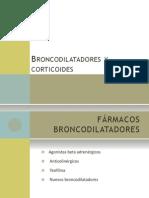 Broncodilatadores y Corticoides