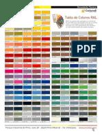 2-Carta Colores Ral-referencia 254k
