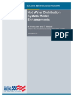 Hot Water Distribution System Model Enhancements