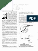 Characteristics of the Reciprocanting Pump