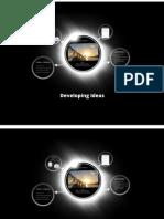 c1 developing ideas presentation