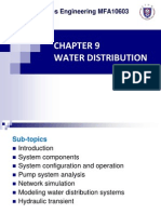 Chapter 9 - Water Distribution