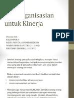 Bab 3 Pengorganisasian Untuk Kinerja