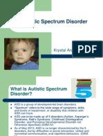 Autistic Spectrum Disorder Presentation