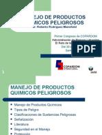 Manejo de productos químicos peligrosos (Roberto Rodriguez)