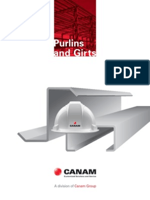 Canam Purlins and Girts Catalogue Canada | Structural Steel | Screw