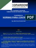 Normas de Seguridad Para Contratistas (Jaime Gonzalez)