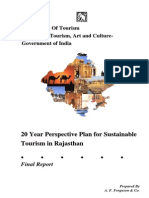 Rajasthan Tourism Development- 20 Year Plan