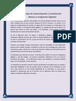 Ensayo de Autoevaluación y Coevaluación Nativos e inmigrantes Digitales