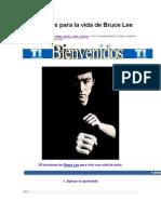 20 Consejos Para La Vida de Bruce Lee