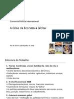 A Crise Da Economia Global