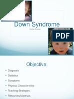 Down Syndrome Fact Sheet Presentation