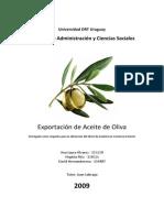 Exportación de Aceite de Oliva