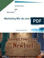 Mezcla de Marketing Newbird