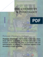 Forensic Chemistry Toxicology