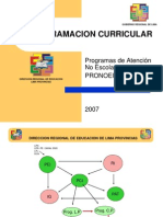 Programa Atencion No Escolarizada