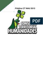 Cuenta Pública CT NAU Humanidades