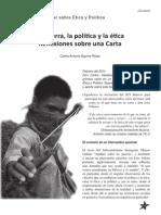 Aguirre Rojas, Carlos Antonio - La guerra, la política y la ética. Reflexiones sobre una Carta