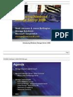Intro to Windows Storage Server 2008