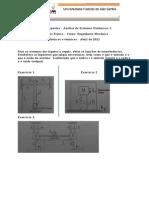 Lista 1 - Analise de Sistemas Dinamicos 1