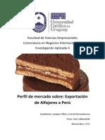 Exportación de Alfajores a Perú