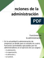 Funcion de La Administracion Velasco