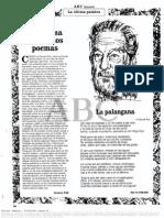Octavio Paz Sobre Claude Roy