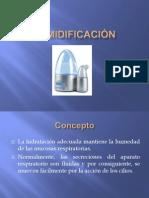 Humidificación