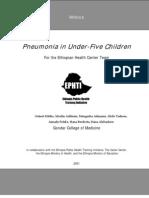 Final Module Pneumonia Under Five