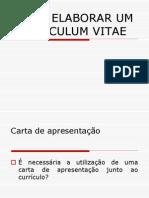 -Acad-3-ESCRITA CURRICULUM VITAE Carta Apresentacao e Modelo